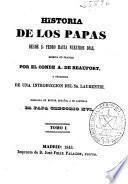 Historia de los papas: (356 p.)
