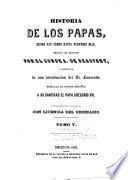 Historia de los papas