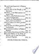Historia de los principios y establecimiento de la Iglesia desde el Nacimiento del Messias hasta la muerte de todos los Apóstoles...--- y su continuación hasta el fin de las vidas de los Apóstoles tomada de las memorias eclesiásticas de Luis S.L. de Tillemont