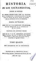 Historia de los sacramentos