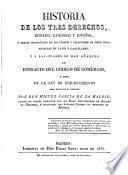 Historia de los tres Derechos, Romano, Canonico y Español