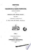 Historia de los variaciones de las iglesias protestantes escritas en francés, 1