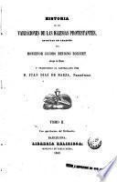Historia de los variaciones de las iglesias protestantes escritas en francés, 2