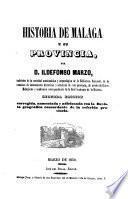 Historia de Malaga e su Provincia