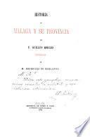 Historia de Málaga y su provincia