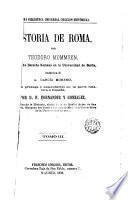 Historia de Roma. 3 [Desde la reunión de Italia Hasta la sumisión de Cartago y Grecia]