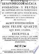 Historia de San Diego de Alcala