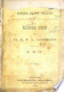 Historia de una vocación--Nicanora Izarié