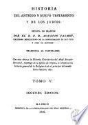 Historia del Antiguo y Nuevo Testamento y de los judíos