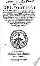 Historia del ... Capitan ... Hernando de Aualos Marques de Pescara, con los hechos ... de otros siete excelentissimos Capitanes (etc.)