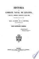 Historia del combate naval de Lepanto