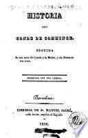 Historia del Conde de Comminge
