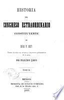 Historia del Congreso Estraordinario Constituyente, 1856-1857