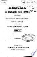 Historia del consulado y del imperio