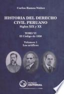 Historia Del Derecho Civil Peruano (siglos Xix Y Xx) Tomo Vi