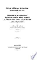 Historia del derecho de Cataluña