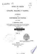 Historia del derecho en Cataluña, Mallorca y Valencia: (1879)