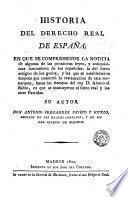 Historia del derecho real de España