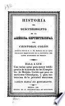 Historia del descubrimiento de la América septentrional por Cristobal Colón