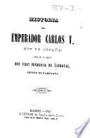 Historia del emperador Carlos V, rey de España