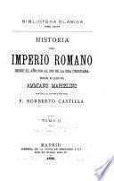 Historia del imperio romano desde el año 350 al 378 de la era cristiana