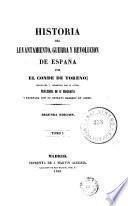 Historia del levantamiento, guerra y revolucion de España, 1
