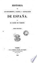 Historia del levantamiento, guerra y revolución de España, 2