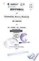 Historia del levantamiento, guerra y revolución de España