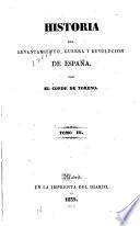 Historia del levantamiento, guerra y revolucion de España--