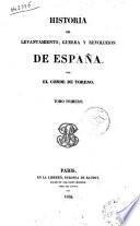 Historia del levantamiento, guerra y revolución de España por el conde de Toreno
