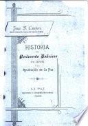 Historia del parlamento boliviano de 1898 y la revolución de La Paz