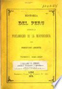 Historia del Perú desde la proclamacion de la independencia