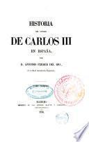 Historia del reinado de Carlos III en España