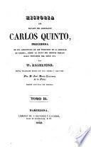 Historia del reinado del emperador Carlos Quinto, 2