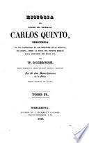 Historia del reinado del emperador Carlos Quinto, 4