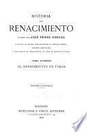 Historia del renacimiento: El renacimiento en Italia