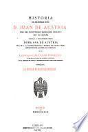 Historia del sereníssimo Señor D. Juan de Austria