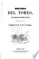 Historia del toreo