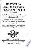 Historia del Viejo y Nuevo Testamento