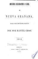 Historia eclesiástica y civil de Nueva Granada