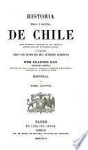 Historia física y política de Chile. Historia