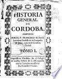 Historia general de Cordoba