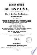 Historia general de España, 6