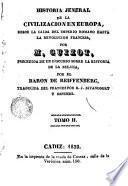 Historia general de la civilizacion en Europa, 2