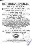 Historia general de la Iglesia desde su fundacion hasta este presente siglo