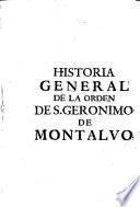 Historia general de la Orden de San Gerónimo