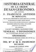 Historia general de la orden de San Geronimo