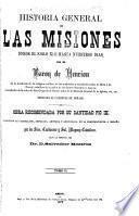 Historiá general de las misiones