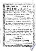 Historia general de Philipinas