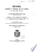 Historia general y natural de las Indias